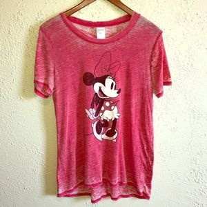 DISNEY Minnie Mouse Vintage Style Graphic Tee